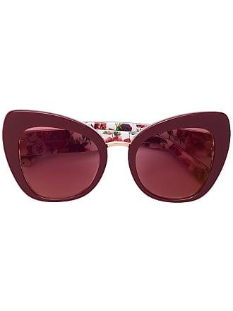 Dolce Eyewear amp; Lunettes Soleil De Gabbana Monture à Rouge Papillon pRq7rwpZ
