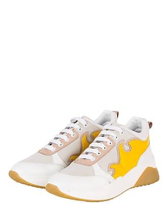 sneaker sneaker Fiamme Plateau Weiss Fiamme Plateau Gelb z08qRwqp