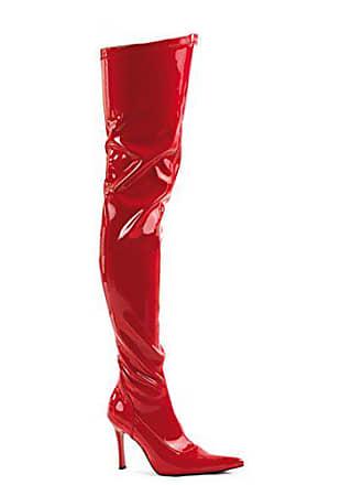 5 Lust 3000 Rot Higher Lack Funtasma heels Overknee Gr stiefel 41 a11wqvAFx
