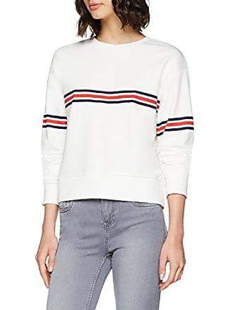 Printed Pullover Look Chest Damen New Stripe 7ntqEEx