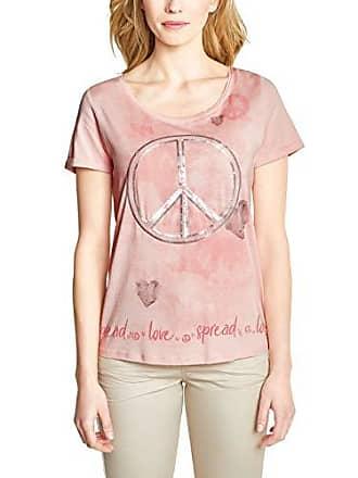 Apricot Xxl Pailletten Print Damen Rosy Cecil Shirt Mit Zp1Yw