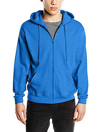 Of 0 62 Homme Sweatshirt 208 Fruit Loom The Bleu HqwxndSOX