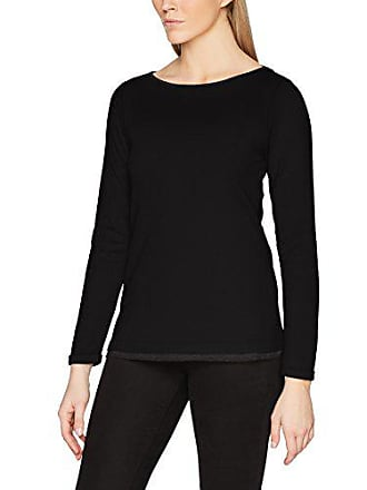 black 40 oliver S 14711315799 9999 Larga Camiseta De Negro Mujer Para Manga 4pFpzqxWZ