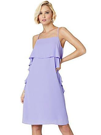 Con Volante Vestido Large amp; lilac Mujer Mini Truth Fable Morado w6HXqaZ