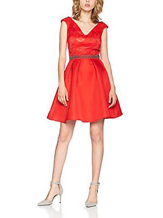 Red Little 38 Rojo Para Mujer Vestido Mistress Pleated ggqw4U