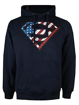 Uomo Blu Comics Dc Felpa Flag navy Small Nvy Superman wqX1TIF f9acab5afcb