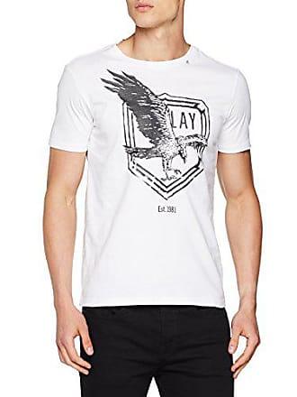 Herren Replay 22608 T M3633 1Medium White 000 shirt Weißoptical b7yfIY6gv