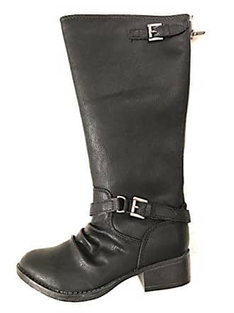 Girls Black Jfamee 1 Riding Medium Boot Madden Steve qwEn65XR