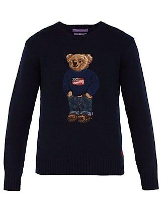 Cachemire Label à Polo Purple Pull Bear Intarsia En Ralph Lauren v0yPNw8nmO