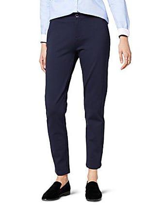Como Mujer Fabricante Para Imogen Rw 8 Pantalones talla 38 Tommy Sky Hilfiger night Azul Del HwRSq