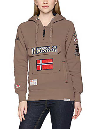 Sweat Beige Femme Lady À Shirt Assort Capuche Geographical B Taupe Norway Gymclass XBOqOa