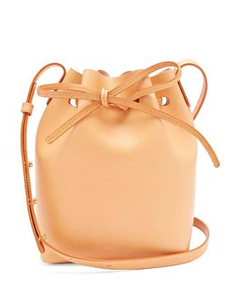 Mini Bucket Mansur Lined Tan Pink Leather Gavriel BagWomens 8wNv0Omn