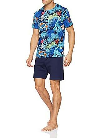 Pijama Del large Short Sleepwear Gm023 Hom Hombre Para Maitai haut Imprimé Floral Xx bas Fabricante Marine 2xl talla Coloré fRqxpawt