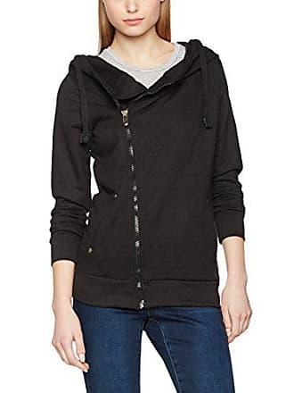 Hoodie elegant Mit Sweater Kapuzenpullover Sweatjacke Zipper Damen Sublevel Für Sportlich qBCx8w