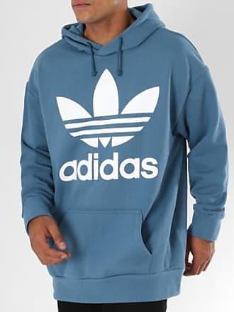 Pétrole Trefoil Bleu Adidas Capuche Sweat Oversize Dh5767 yRY7AF0qw