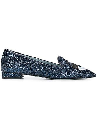 Bleu Chiara Ferragni Shoes Flirting Ballerina wxYqI6X70