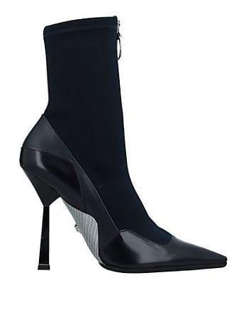 Alta Versace De Calzado Botines Caña wxATqfYn4I