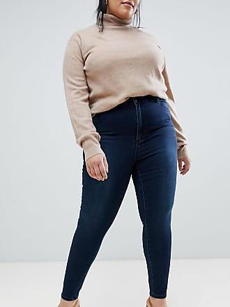 Design Qualité Bleu Jean Taille Supérieure De Délavé Curve Sculpt Foncé Me Asos Haute qw5R6axx