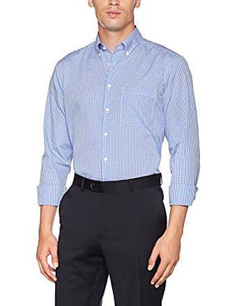 Karo 47 Hombre Multicolor Blau Para Camisa Weiß 19 Seidensticker w8qOXft