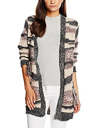 Clothes Ls Melange Grey dark Cardigan Vila Viester Knit Cardigan Donna d7ZdPqw