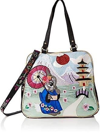 Bunny Bag Choice Damen ShopperMehrfarbiggreen Centimeters Blossom Irregular red16x30x32 8nP0XkwO