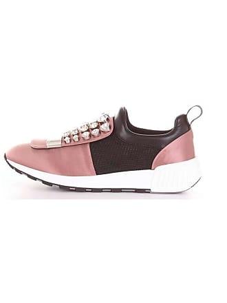 Rose Sneakers Et Noir Femme A80840mfn344 Sergio Rossi qgUBRR