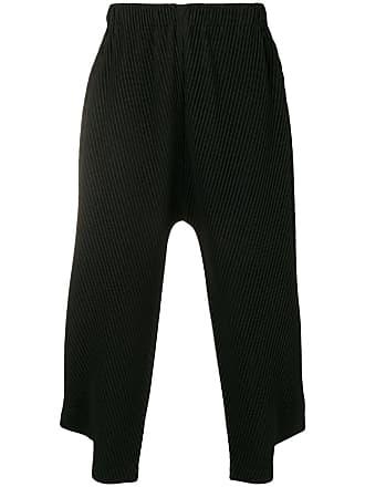 Issey à Plissé Homme Miyake DesignNoir Pantalon Crop dCxWoBeQr