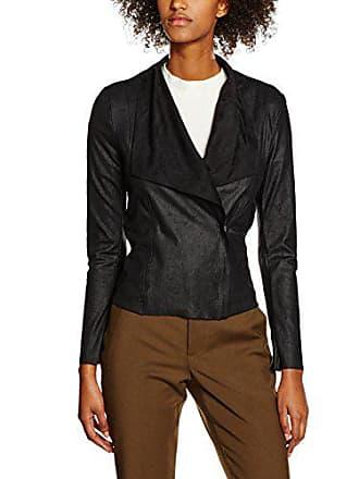 Dnm Noir black Blazer 40 Femme Vmcheri Suede Fake Moda Vero Blouson 8nXqfpI