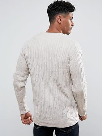 Beige All Jumper Mini Over Cable Brave Soul gwz0zqF