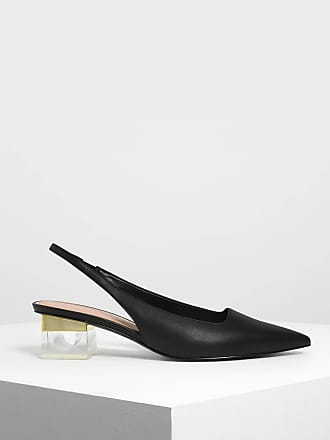 Slingback Heel Pumps Lucite Keith amp; Charles 4Iqfv4