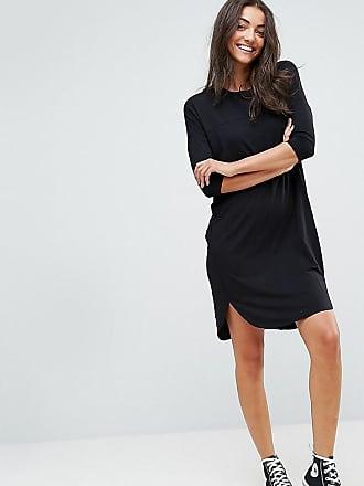 shirt Asos Robe Oversize Surpiquée Design T Noir Tall PPqSIUO