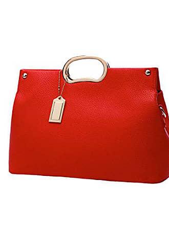 Großen Handtasche Gkkxue Damen Einfachheit Der Trendy Taschen Koreanische Wilden Version Mode Neue Einfachen red1 onesize Pra1xwtPq