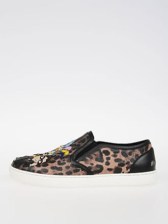 Ons Leopard Printed 5 amp; Slip Gabbana Dolce 37 Size qwRpPBc6x