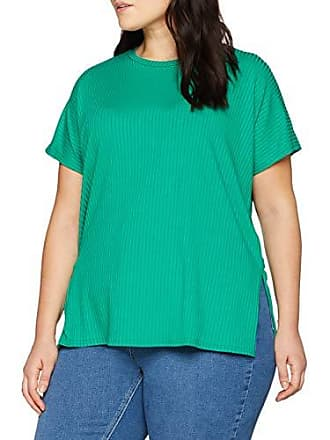 shirt taille Curves Green Look 48 Vert Femme Carly Side Rib T Fabricant Split New mid 20 Rq0OS50