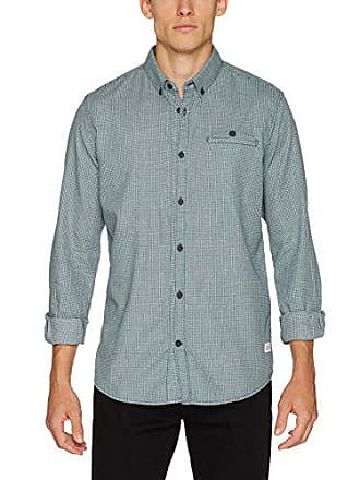 Homme Green Shirt 7509 Chemise deep Arrow large Chambray Teal Tailor Floyd X Casual Tom Vert UqaCgn