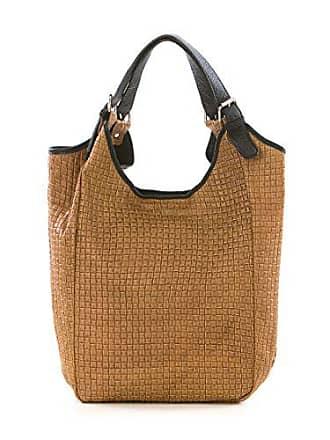 Lucca Bag Body In Shopper Made Shoulder Cm 26 Tote Italy Baldi 28x40x22 Cognac Cross Leather Handbag aFaq6r