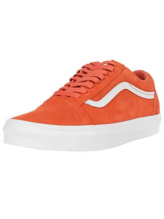 Neonorange Old Vans Weiß Skool Sneaker qSwYt
