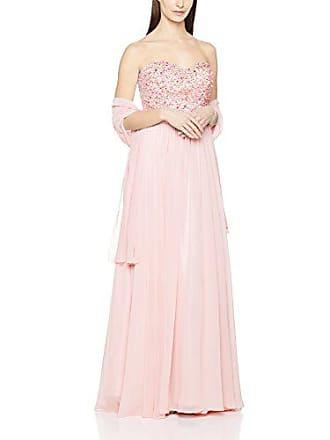 Pink Beaded Vestido S 42 almond De heart Rosa Mascara Para Noce Mujer wUvqtwd