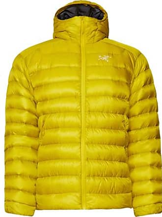 Hooded Arcteryx Yellow Ripstop Cerium Down Jacket Quilted Bright Veilance Lt xXUXqw6Pr