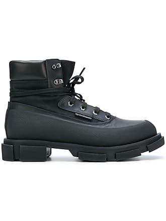 Noir Bottines Semelle Both Shoes À Épaisse XqTZRF