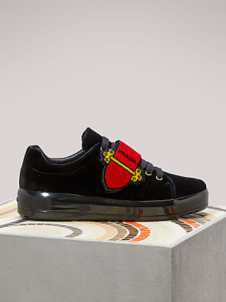 En Prada Prada Cahier Velours Sneakers Sneakers 5q4tx