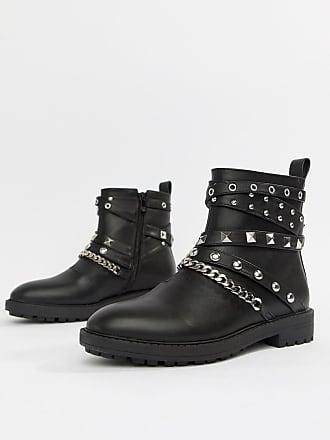 Kacey Tachuelas Black con Jackets Raid Boots vYI4BxWw