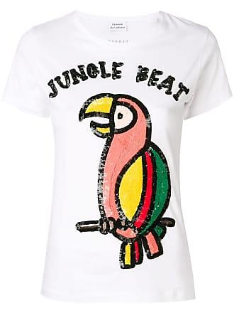 De s à Brodé shirt P a Logo o SequinsBlanc hT r fgyvY67Ib
