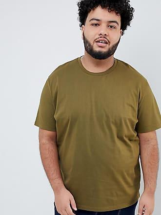 T Rundhalsausschnitt Khaki shirt Asos Grün PlusLegeres In Mit QstrdxBhC