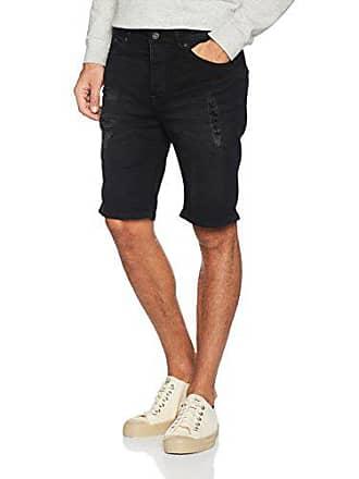 Lt Talla Solid Shorts Pantalones L Hombre Black Cortos Ryder Str Denim Para EgqCOZ