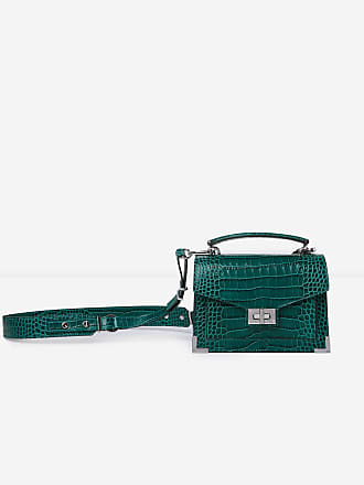 The Mini Crocodile Kooples Façon Emily 5rxwyruqx Sac Emeraude 7fIbyvY6g