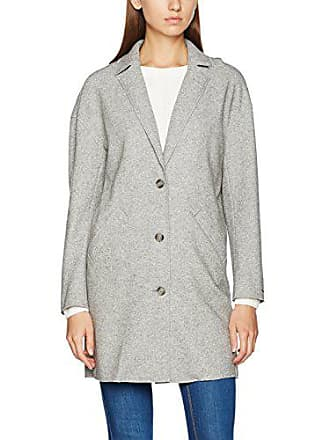 40 Gris Large Grey Htr Mujer Del 18 Coat Tommy talla light Abrigo Fabricante Manga Larga Jeans 1wpPxgq0