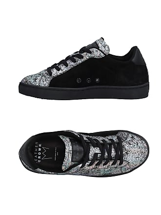 Crown Sneakers Leather Tennis amp; Basses Chaussures pWAzYwaqO