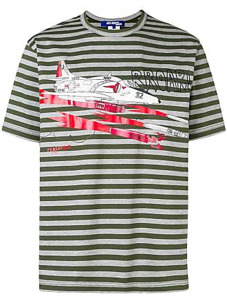 Junya Watanabe Rayé GraphiqueGris T Imprimé shirt à wk8OnPX0