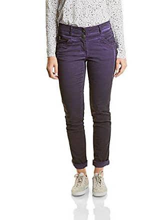 Nos 11085 Aw17 Cecil 32l Fabricante talla New Pantalones dark Violett Purple X York 33 Del Mujer 42w Para dUBBgq
